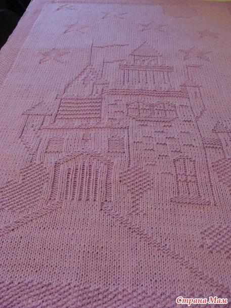 Спица для вязания с замком