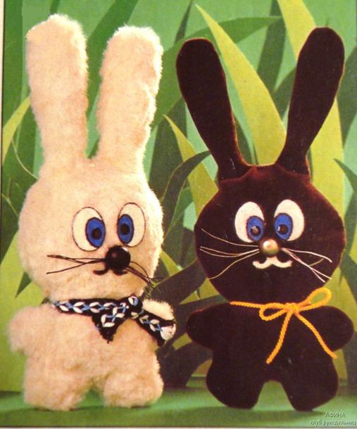 Пасхальные примитивные кролики