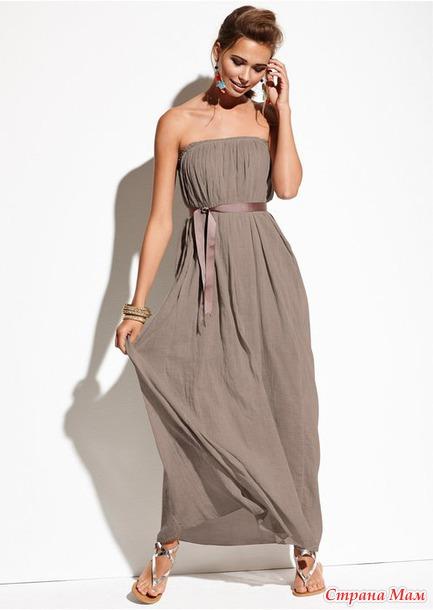 Платья и юбки из марлевки