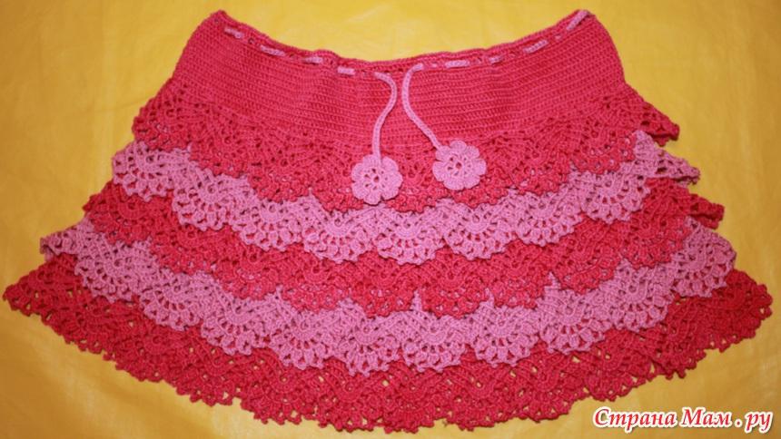 Ажурная юбка с доставкой