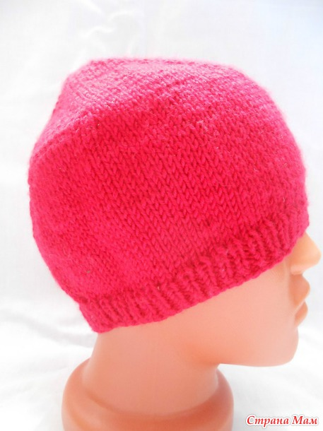 Самая простая шапка (спицы)