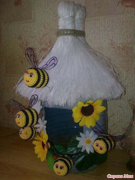 Поделки улей с пчелами своими руками 96
