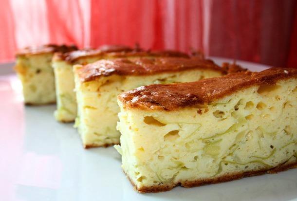 Заливной пирог на кефире с капустой и картошкой рецепт