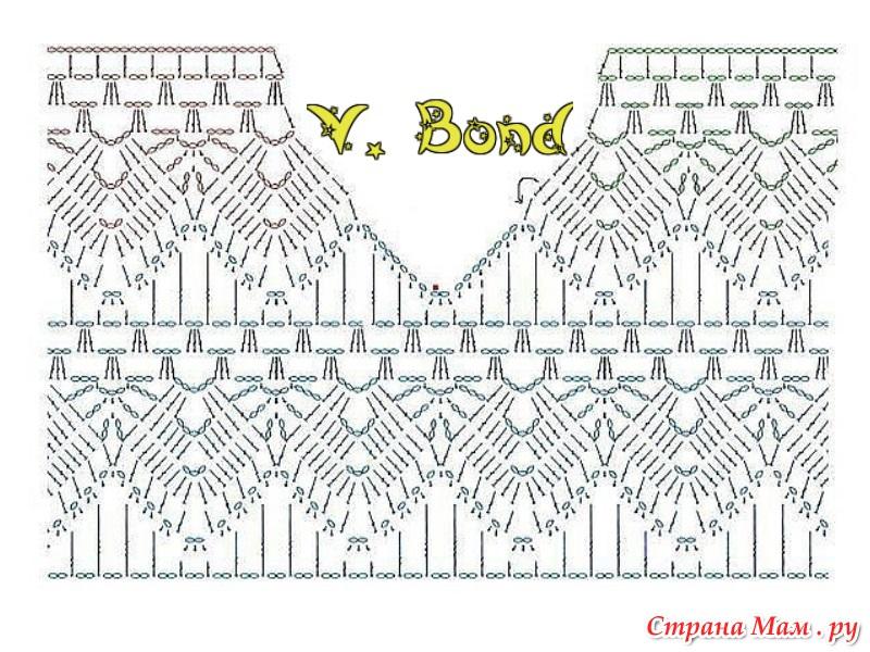 Постила вязание крючком схемы 6