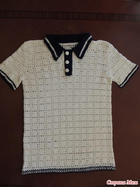 Рубашка-поло он-лайн