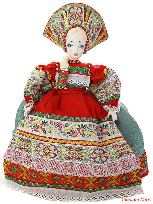 Куклы на заварной чайник