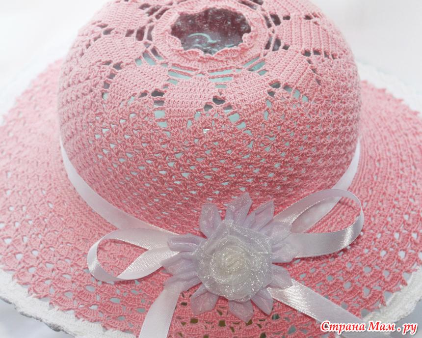 Вязание крючком шляпка принцессы