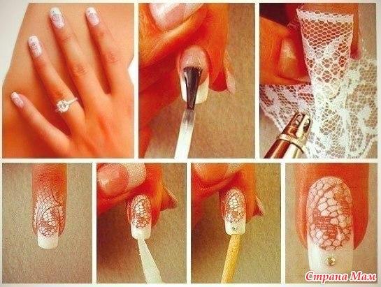 Делать узоры ногтях домашних условиях