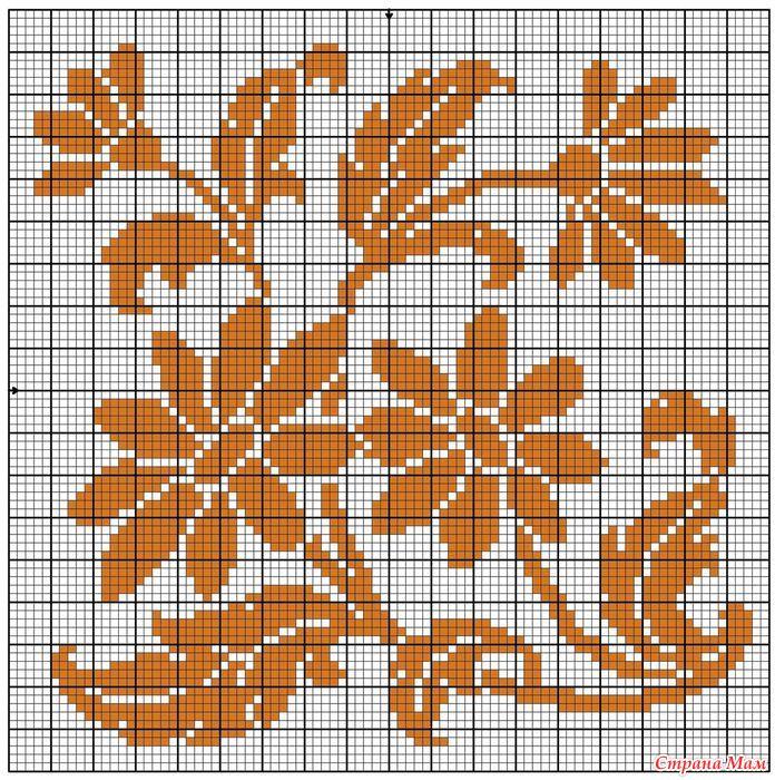 Схема филейных вязаний фото