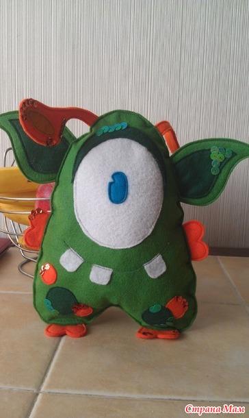 Игрушка-инопланетянин своими руками