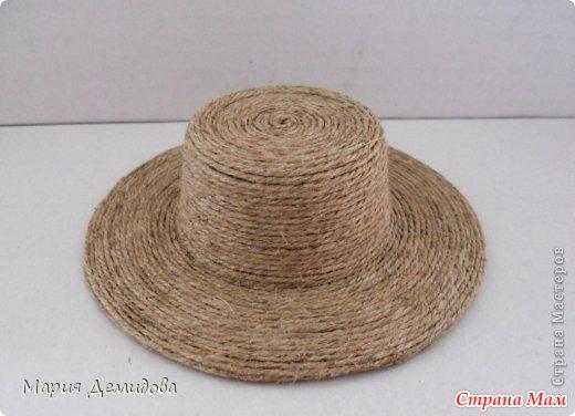 Шляпа мастер класс подробно #8