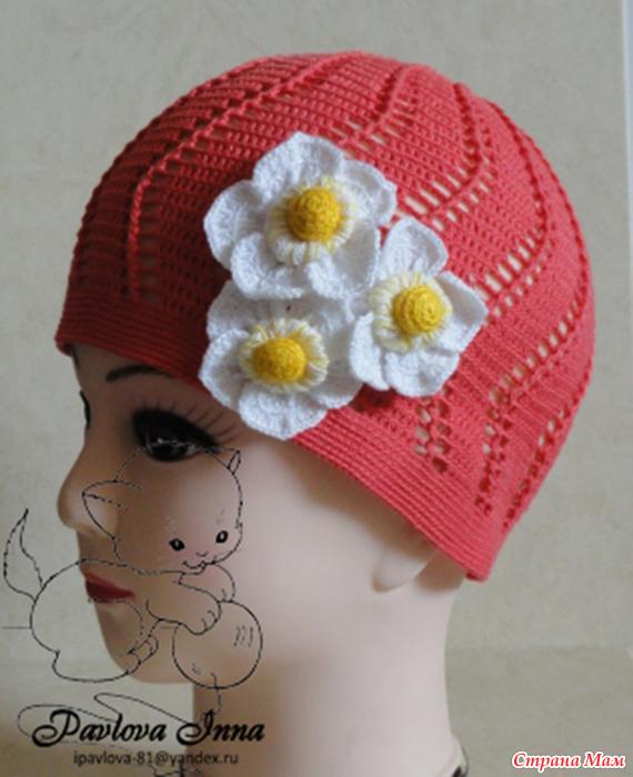 Летние шляпки, шапочки и