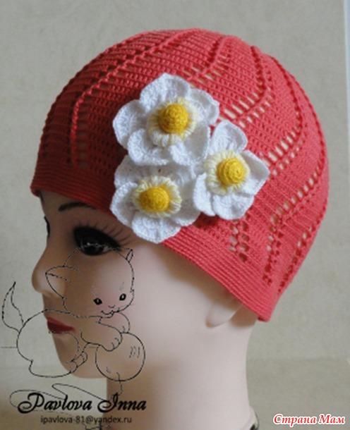 Летние шляпки, шапочки и кепочка