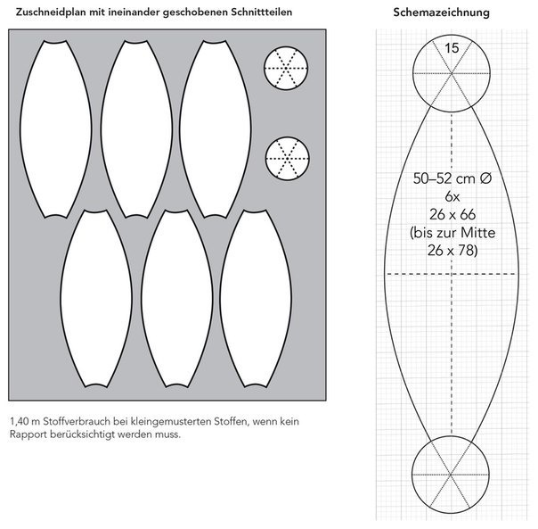 Мячик из ткани выкройка