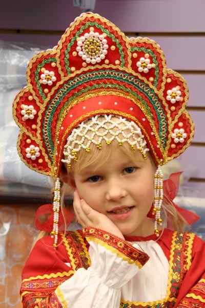 Русский народный кокошник своими руками
