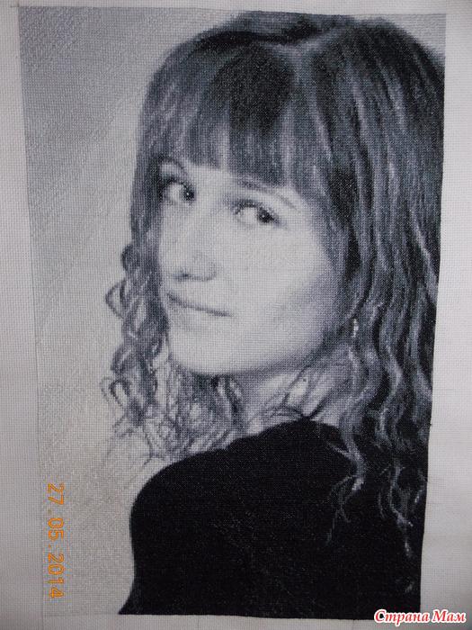 Схемы портретов.. вышивка