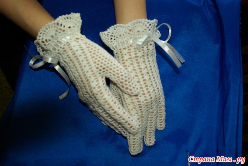 Мастер класс по вязанию перчаток 52