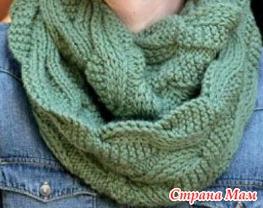 绿色的帕姆·艾伦围巾 - maomao - 我随心动