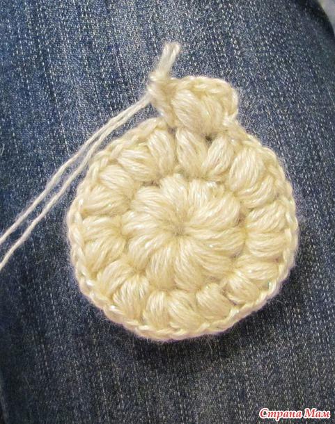 Вязание крючком шапки пышный столбик 18
