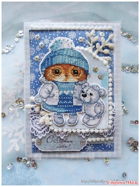 Первый снежок, схема Татьяны