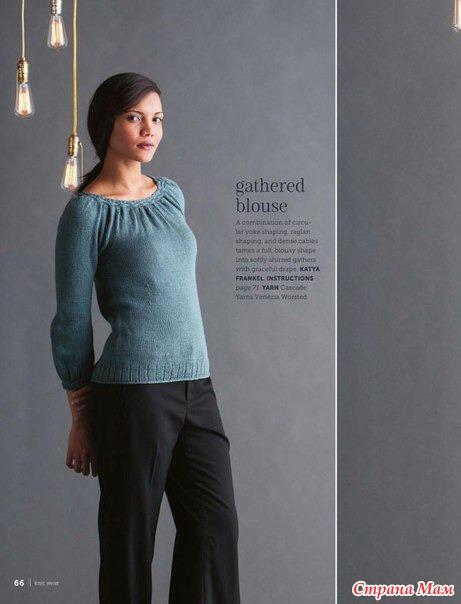 Блуза от дизайнера Katya Frankel