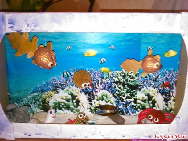 Поделки из природного материала на тематику морскую 35