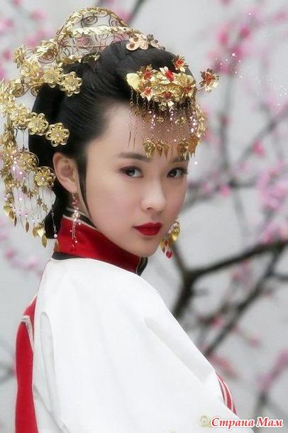 прически китаянок фото