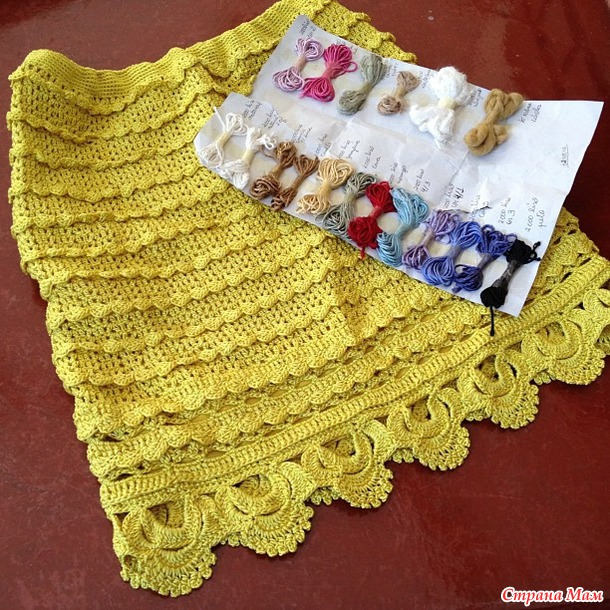 Яркая юбка Алзиры Виера (Alzira Viera)