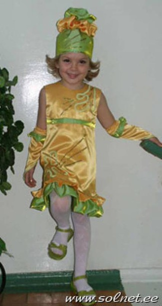 Как сшить новогодний костюм для девочки своими руками конфетка - Str24.ru