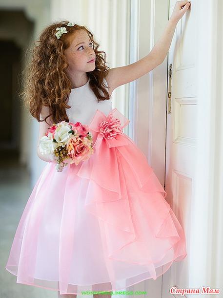 Фото платья для девочки на выпускной