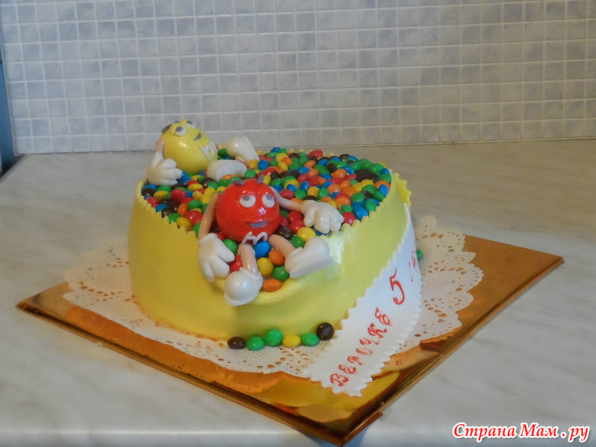 Торт ммдемс рецепт пошагово с фото