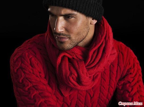 Связала свитер из пряжи ализе