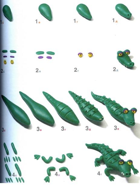 Поделки из пластилина инструкция с картинками