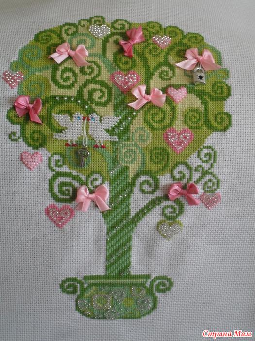 *Дерево счастливой любви!