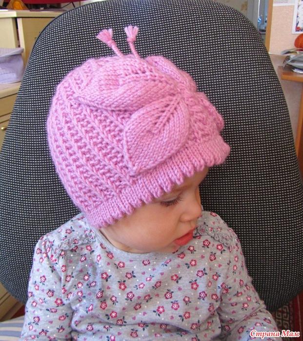 Страна мам вязание шапок детям спицами 13