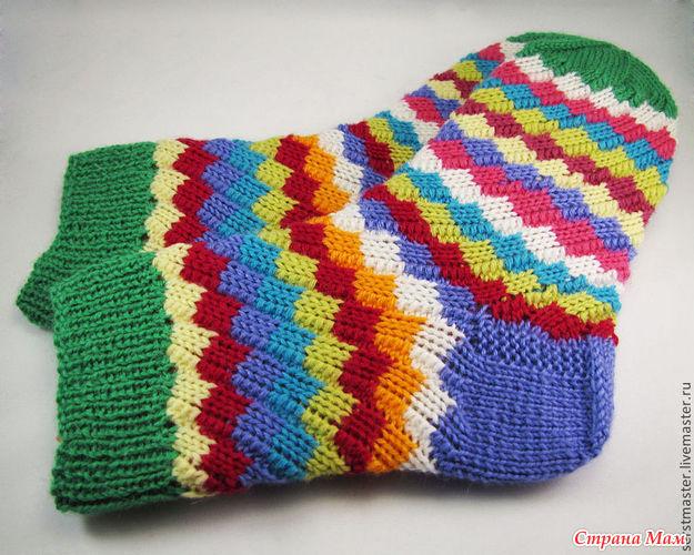 Вязание эстонских носков