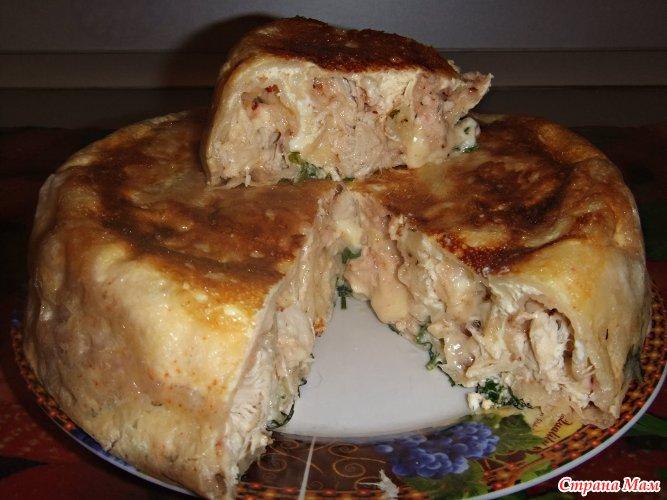 Сытные пироги в мультиварке рецепты