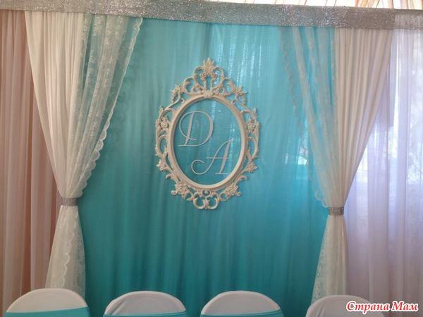 Задник свадебный своими руками