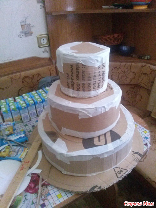 Торт своими руками из чокопай