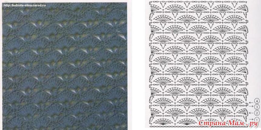 Схемы крючком (полотно)