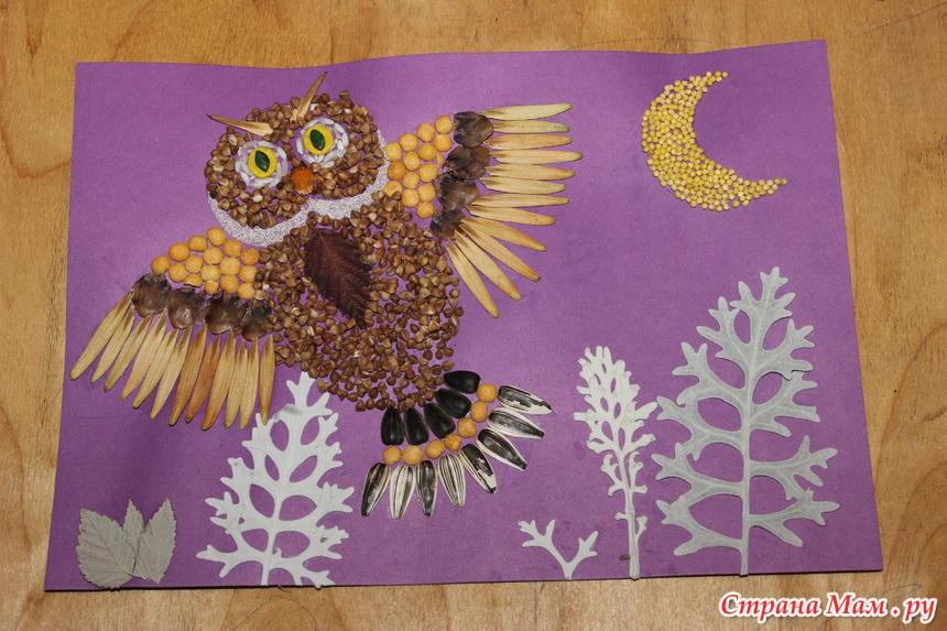 Как сделать сову своими руками из природного материала 21