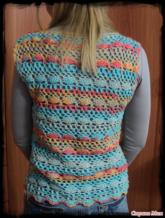 Блузка из квадратов