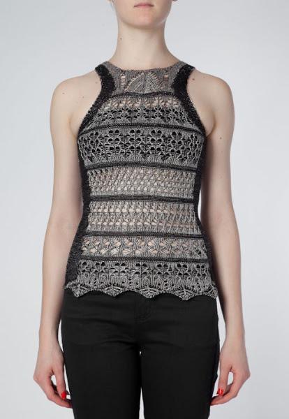 Топ спицами от Cecilia Prada.( А также платье и юбка)