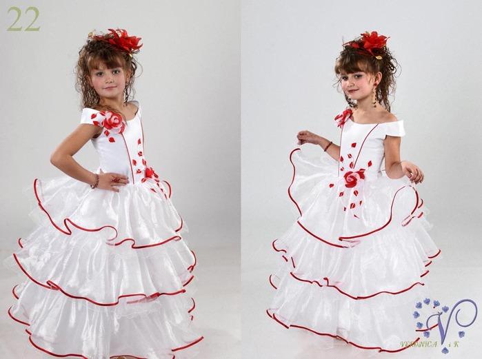 Платье девочке на новогодний своими руками