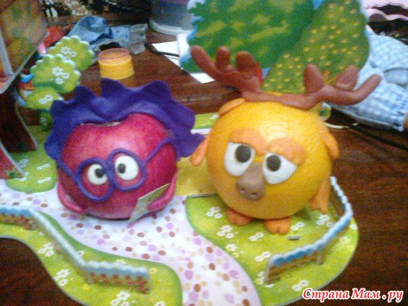 Поделка из апельсина в детский сад 39