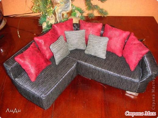 Что сделать своими руками диван для барби