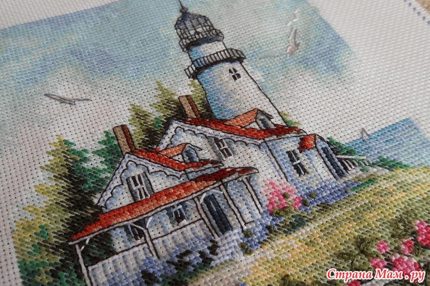 Живописный маяк от Dimensions