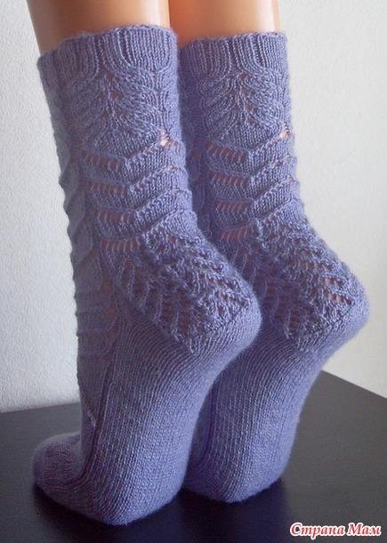 Собралась вязать носочки  Ripple Effect дизайнера Jen Lucas