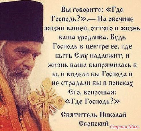 русской православные статьи о смысле жизни сможете