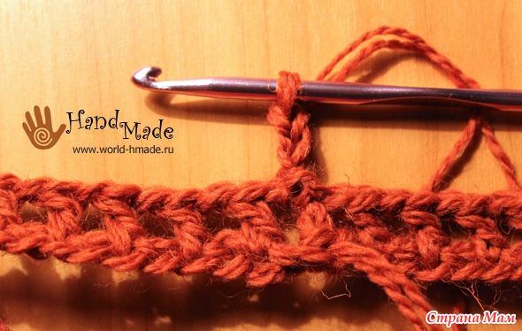 Шарф - снуд крючком для начинающих. Мастер-класс и описание вязания. - Копилочка Идей & Советов - Страна Мам